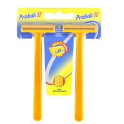Imagem 1 do produto Aparelho de Barbear Gillette Probak II - 2 Unidades