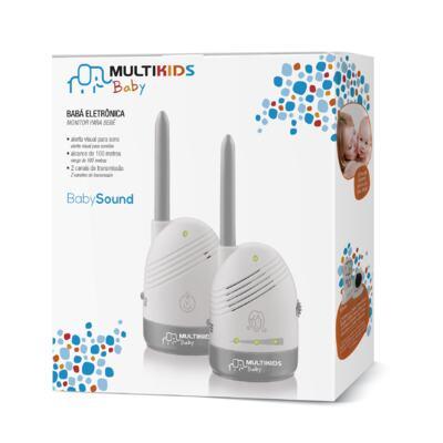 Imagem 2 do produto Babá Eletrônica Sem Tela Baby Sound Multikids Baby BB002