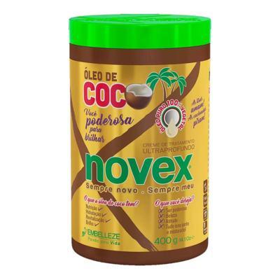 Creme de Tratamento Novex - Óleo de Coco | 400g