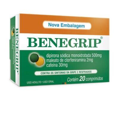 Imagem 2 do produto Kit Benegrip 20 Comprimidos 2 Caixas