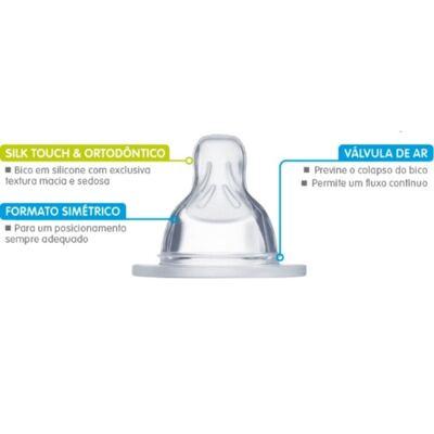 Imagem 2 do produto Bico para Mamadeira X MAM Fluxo super rápido - 1436