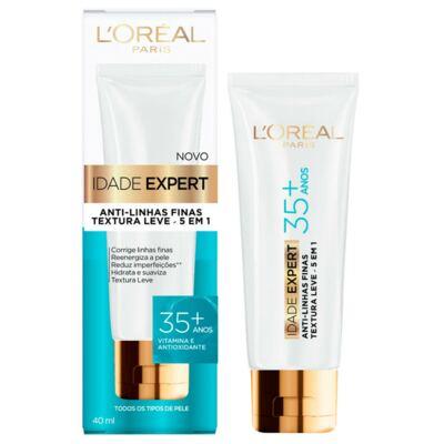 Imagem 3 do produto Kit L'Oréal Água Micelar 5 em 1 200ml + Creme Antissinais Idade Expert 35+ 40ml