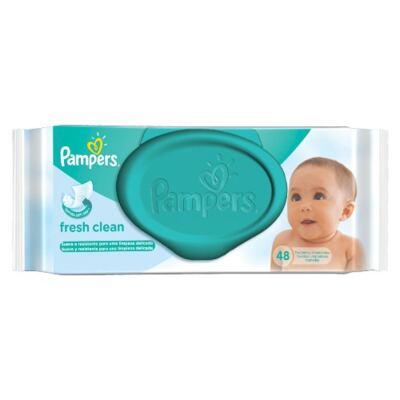Imagem 3 do produto Kit Pampers Fralda Descartável Confort Sec G 70 Unidades + Lenços Umedecidos Fresh Clean 48 Unidades