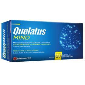 Quelatus Mind - 60 cápsulas gel