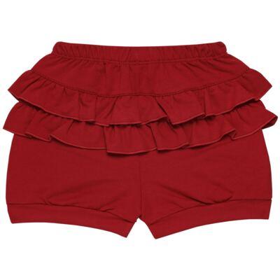 Imagem 5 do produto Blusinha c/ Shorts frufru para bebe em viscolycra Butterflies - Baby Classic - 21001628 BLUSINHA M/C COM SHORTS VISCOLYCRA BUTTERFLY-3