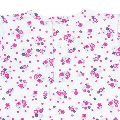Imagem 4 do produto Bata longa com Legging  para bebe em cotton Tropical - Vicky Lipe - 18520001.53 CONJ.BATA C/LEGGING - COTTON-1