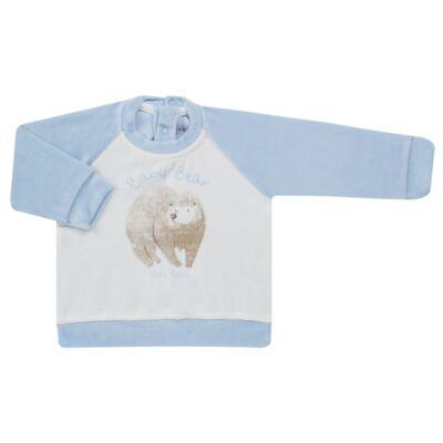 Imagem 2 do produto Blusão com Calça para bebe em plush Forest Bear - Vicky Baby - 1797-4250 CJ BLUSÃO URSO FOREST -2