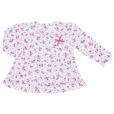 Imagem 2 do produto Bata longa com Legging  para bebe em cotton Tropical - Vicky Lipe - 18520001.53 CONJ.BATA C/LEGGING - COTTON-P