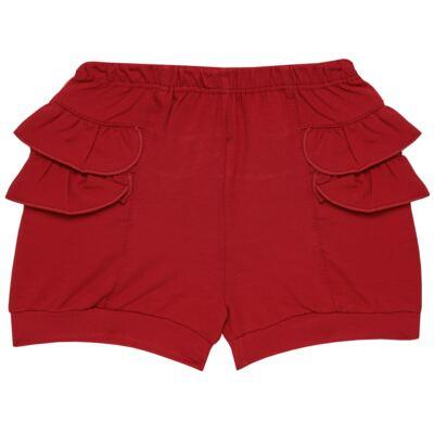 Imagem 6 do produto Blusinha c/ Shorts frufru para bebe em viscolycra Butterflies - Baby Classic - 21001628 BLUSINHA M/C COM SHORTS VISCOLYCRA BUTTERFLY-GG