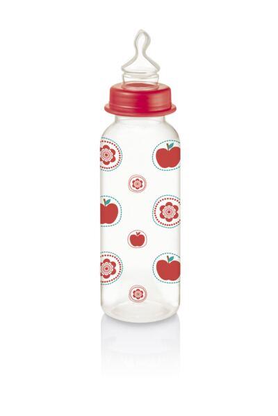 Imagem 1 do produto Mamadeira Nature Pp Vermelha Ortoflex 250ml Multikids Baby - BB116