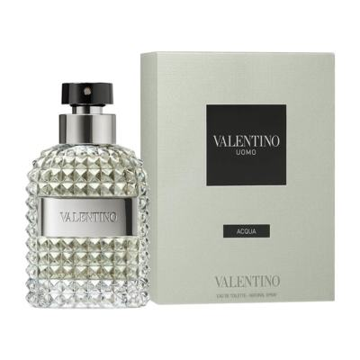 Imagem 1 do produto Uomo Acqua de Valentino Masculino Eau de Toilette - 75 ml