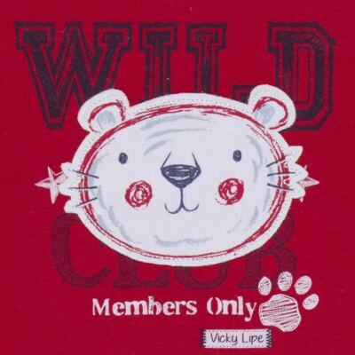 Imagem 3 do produto Body curto com Shorts em suedine My Wild Friend - Vicky Lipe - 21091364 BODT C/ SHORTS SUEDINE TIGRE-G