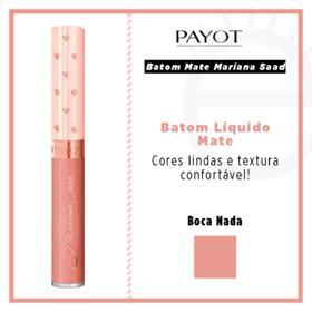 Batom Líquido Mate Payot - Coleção Mariana Saad - Boca Nada