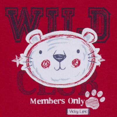 Imagem 3 do produto Body curto com Shorts em suedine My Wild Friend - Vicky Lipe - 21091364 BODT C/ SHORTS SUEDINE TIGRE-P
