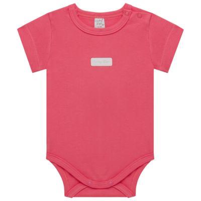 Imagem 1 do produto Body curto para bebe em suedine Candy - Vicky Lipe - BC1379 BODY MC SUEDINE CANDY -P