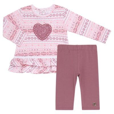 Imagem 1 do produto Bata com Legging para bebe em cotton Ethnic - Baby Classic - 18210002.20 BLUSA C/ LEGGING-MALHA/COTTON-GG