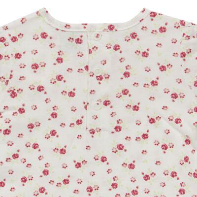 Imagem 4 do produto Bata com Legging para bebe em cotton Flowery Bear - Vicky Lipe - 8341360 CONJ. BATA COM LEGGING COTTON URSA FLORAL-3