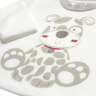 Imagem 3 do produto Blusão com Calça em microsoft Little Puppy - Vicky Lipe - BCCP947 BLUSÃO M/L C/ CALÇA MISCROSOFT CACHORRINHO-P