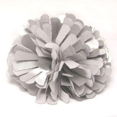 Imagem 1 do produto Presilha Pom Pom Prata - Me Encanta - T267-Prata Presilha Pom Pom