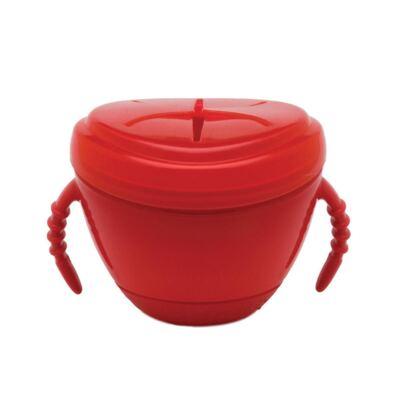 Imagem 1 do produto Pote para Lanche Vermelho (6m+) - Girotondo Baby - RK002-VERMELHA Pote para Lanche (6m+)
