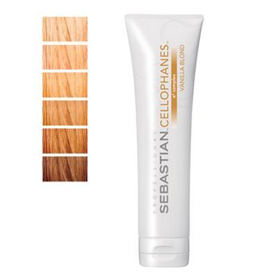 Imagem 1 do produto Cellophanes Sebastian 300ml - Tratamento para Cabelos Coloridos - Vanilla Blond