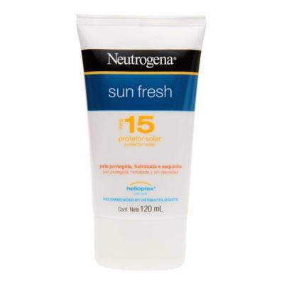 Neutrogena Sun Fresh Protetor Solar Fps 15 120 ML