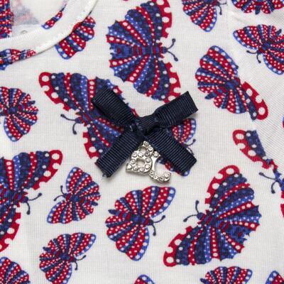 Imagem 4 do produto Bata c/ Legging para bebe em viscolycra Butterflies - Baby Classic - 22111628 BATA MC COM LEGGING VISCOLYCRA BUTTERFLY-G