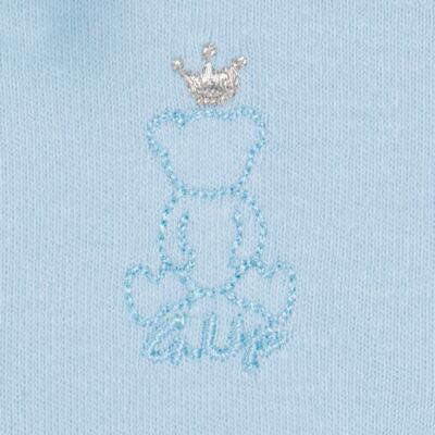 Imagem 4 do produto Body longo com Calça (mijão) em suedine Azul Matelassê - Grow Up - 01020218.0003 CONJ. PG BEAR FRIEND AZUL-G