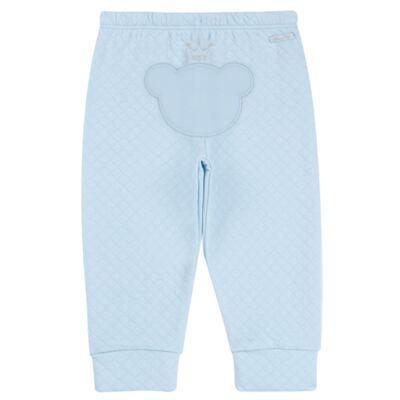 Imagem 6 do produto Body longo com Calça (mijão) em suedine Azul Matelassê - Grow Up - 01020218.0003 CONJ. PG BEAR FRIEND AZUL-G