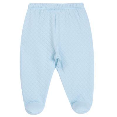 Imagem 5 do produto Body longo com Calça (mijão) em suedine Azul Matelassê - Grow Up - 01020218.0003 CONJ. PG BEAR FRIEND AZUL-RN