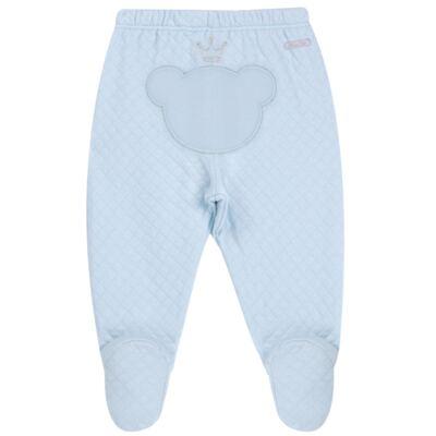 Imagem 6 do produto Body longo com Calça (mijão) em suedine Azul Matelassê - Grow Up - 01020218.0003 CONJ. PG BEAR FRIEND AZUL-P