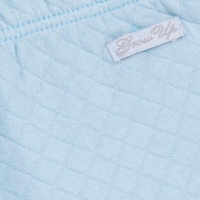Imagem 8 do produto Body longo com Calça (mijão) em suedine Azul Matelassê - Grow Up - 01020218.0003 CONJ. PG BEAR FRIEND AZUL-M