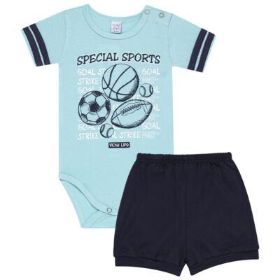 Imagem 1 do produto Body curto com Shorts em suedine Special Sports - Vicky Lipe - 21091367 BODY C/ SHORTS SUEDINE SPORTS 2-P