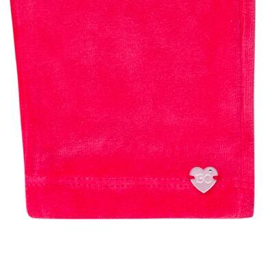 Imagem 5 do produto Bata com Calça para bebe em plush Little Roses - Baby Classic - 976881.218 CONJUNTO BATA COM CALÇA - PLUSH ROSA-1