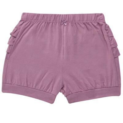 Imagem 5 do produto Blusinha com Shorts babadinhos para bebe em spandex Dolce Amore - Baby Classic - 18690001.20 BLUSINHA M/C COM SHORTS COTTON TRICOT-1