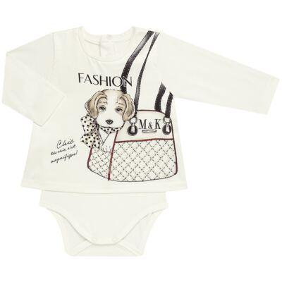 Imagem 2 do produto Body Bata com Legging para bebe cirré Fashion Glam - Mini & Kids - CJVL0001.233 CONJ.BODY C/LEGGING - VISCONFORT-GG