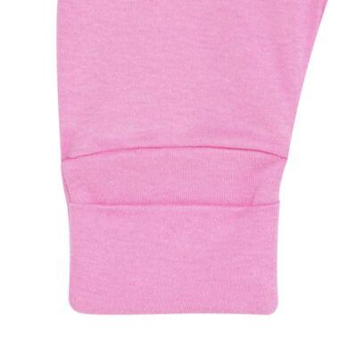 Imagem 5 do produto Body curto com Calça para bebe em algodão egípcio c/ jato de cerâmica e filtro solar fps 50 L´Hortensia - Mini & Kids - CSC1746 CJ. BODY MC MIJÃO SUEDINE HORTÊNCIAS-P