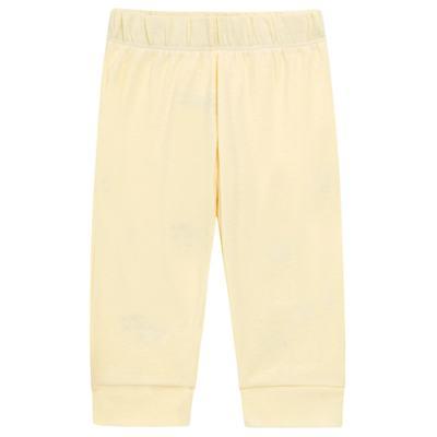 Imagem 4 do produto Body longo com Calça para bebe em suedine Amarelo - Vicky Lipe - 1822071.170 BODY M/L TRANSP MIJÃO SUEDINE HC AMARELO-M