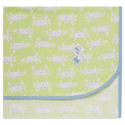 Imagem 1 do produto Manta para bebe em high comfort Cute Crab - Vicky Lipe - 20451336 MANTA MALHA CARANGUEJO