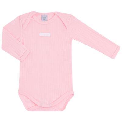 Imagem 2 do produto Body longo com Calça para bebe Sleep Comfort Rosa - Vicky Lipe