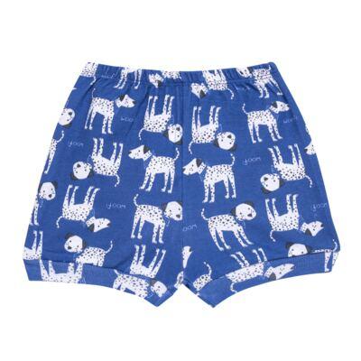 Imagem 3 do produto Body curto com Shorts em high comfort Dalmatians Blue - Vicky Lipe - 18280001.37 CONJ.BODY C/SHORTS - SUEDINE-G