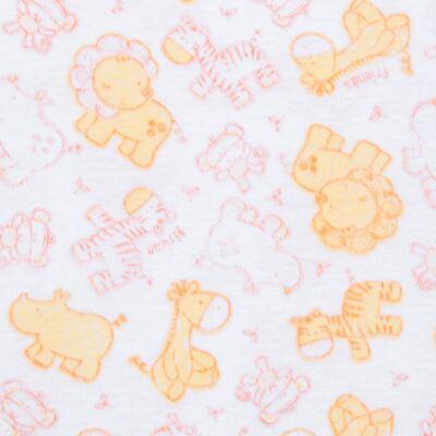 Imagem 2 do produto Body curto para bebe em high comfort Safari - Vicky Lipe - 2151161.312 BODY M/C TRANSP. SUEDINE HC ZOO-P