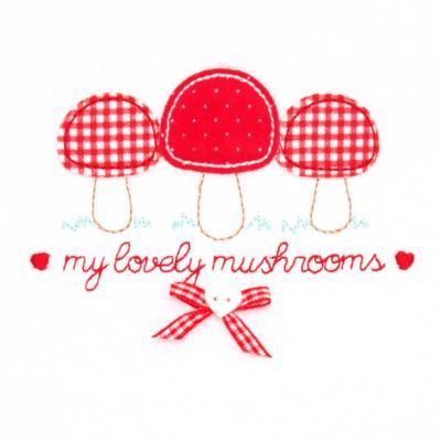 Imagem 3 do produto Blusa com Calça para bebe moletom Cogumelos - Vicky Lipe - 873274 BLUSÃO M/L C/ CALÇA MOLETON COGUMELO-GG