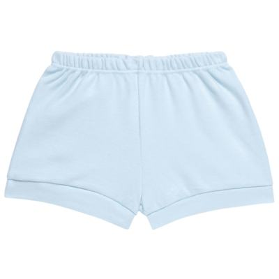 Imagem 4 do produto Body curto com Shorts em suedine Azul - Vicky Lipe