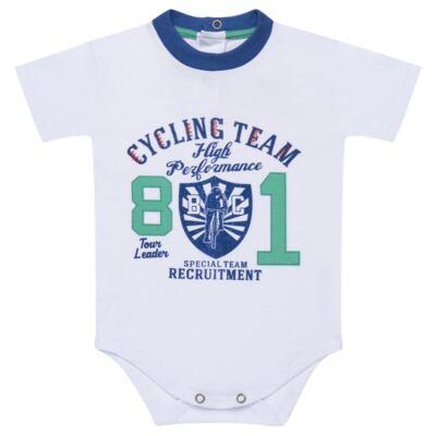 Imagem 2 do produto Body com Shorts em suedine Burnett- Baby Classic - 22441415 BODY MC C/ BERMUDA SUEDINE BICYCLE -2