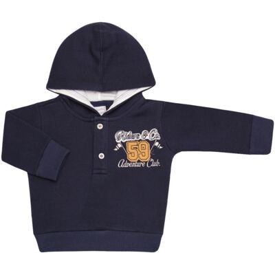 Imagem 2 do produto Blusão com capuz e Calça em moletom Wharton - Baby Classic - 59175 CONJ.BLUSÃO C/CAPUZ MOLETON SCOOTER-3
