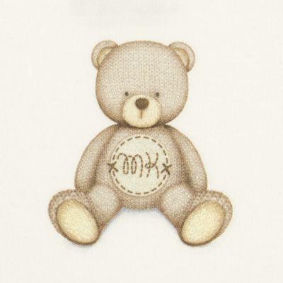 Imagem 2 do produto Body curto para bebe em Pima Cotton Supreme Prime Bear Marfim - Mini & Kids - BDMC0001.65 BODY MANGA CURTA - SUEDINE-G