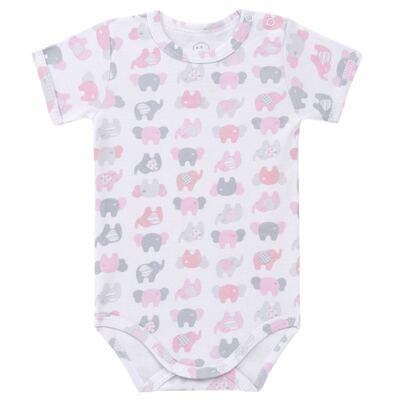 Imagem 1 do produto Body curto para bebe em algodão Fanty - Dedeka