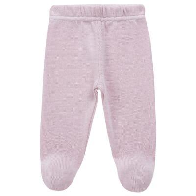 Imagem 5 do produto Vestido longo c/ Calça para bebe em tricot Anabel - Mini Sailor - 17954264 VESTIDO COM MIJAO TRICOT ROSA BEBE-6-9