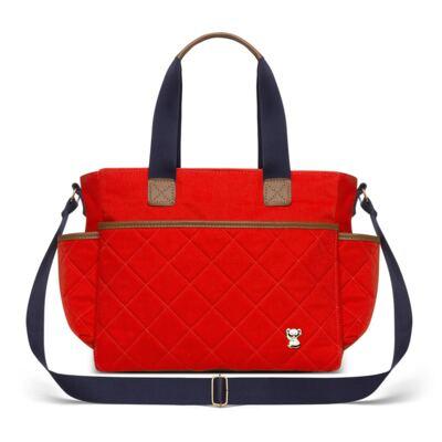 Imagem 3 do produto Mala Maternidade para bebe + Bolsa de Viagem + Frasqueira Térmica Heloisa em sarja Casual Cenoura - Classic for Baby Bags
